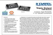 C&D西恩迪TWR-4-12模块电源说明书