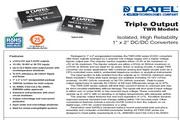 C&D西恩迪TWR-300-D12模块电源说明书