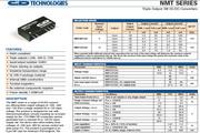 C&D西恩迪NMT系列模块电源说明书