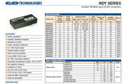C&D西恩迪NYD系列模块电源说明书