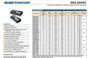 C&D西恩迪NKA系列模块电源说明书