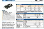 C&D西恩迪NMT1272SC模块电源说明书