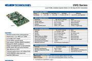 C&D西恩迪UVQ-12/8-D24P模块电源说明书