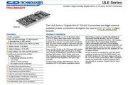 C&D西恩迪ULE系列模块电源产品说明书