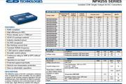 C&D西恩迪NPH25S系列模块电源说明书