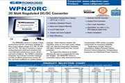 C&D西恩迪WPN20R24S12C模块电源说明书