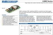 CC&D西恩迪LSM2系列模块电源产品说明书