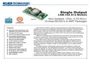 C&D西恩迪LSM-16AD12系列模块电源产品说明书
