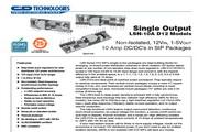 C&D西恩迪LSN-10AD12系列模块电源产品说明书