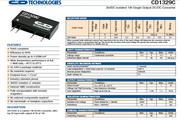 C&D西恩迪CD1329C模块电源说明书