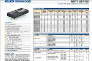C&D西恩迪NDTS系列模块电源产品说明书