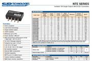 C&D西恩迪NTE系列模块电源产品说明书