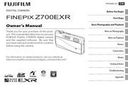 富士FinePix Z700EXR数码相机 使用说明书