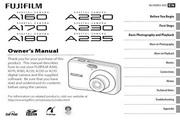 富士FinePix A180数码相机 使用说明书