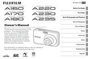 富士FinePix A160数码相机 使用说明书