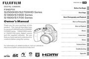 富士FinePix S1600 series数码相机 使用说明书