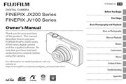 富士FinePix JX200 series数码相机 使用说明书