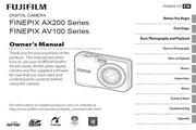 富士FinePix AX200 series数码相机 使用说明书