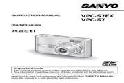 三洋 VPC-S7数码相机 使用说明书