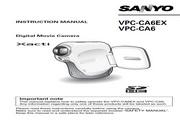 三洋 VPC-CA6EX数码相机 使用说明书