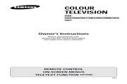三星 29A5彩色电视机 使用说明书