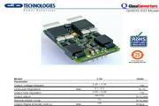 C&D西恩迪QHS35-033模块电源产品说明书