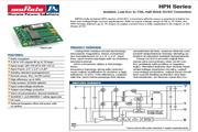 C&D西恩迪HPH系列模块电源产品说明书