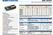 C&D西恩迪NMS系列模块电源产品说明书