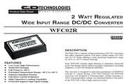C&D西恩迪WFC02R系列模块电源产品说明书