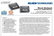 C&D西恩迪BWR系列模块电源产品说明书