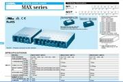 COSEL科索MAX1600F模块电源说明书