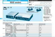 COSEL科索MAX3200T模块电源说明书