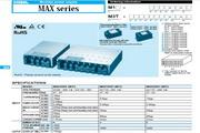COSEL科索MAX1600T模块电源说明书