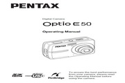宾得Optio E50数码相机 使用说明书