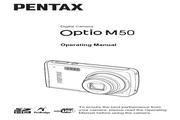 宾得Optio M50数码相机 使用说明书