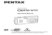 宾得Optio V10数码相机 使用说明书