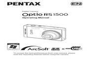 宾得Optio RS1500数码相机 使用说明书
