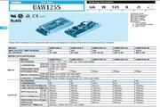 COSEL科索UAW125S-3模块电源产品说明书