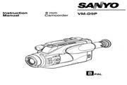 三洋 VM-D9P数码摄像机 使用说明书