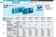 COSEL科索PAA50F-3模块电源产品说明书