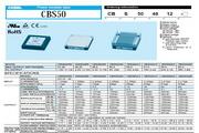 COSEL科索CBS50481R8模块电源产品说明书