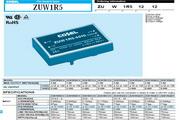 COSEL科索ZUW102415模块电源说明书