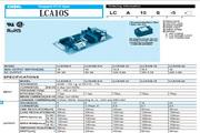 COSEL科索LCA100S-5模块电源产品说明书