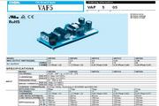 COSEL科索VAF505模块电源说明书