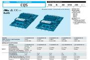 COSEL科索CQS48018-50模块电源产品说明书