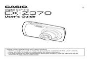 卡西欧 EX-Z370数码相机 使用说明书