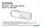 卡西欧 EX-Z335数码相机 使用说明书