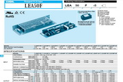 COSEL科索PBA130模块电源说明书