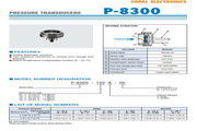 COPAL P-8300-102A型压力传感器 说明书