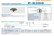 COPAL P-8300-351A型压力传感器 说明书